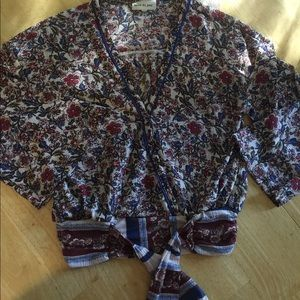 Belle du hour , 3/4 length sleeve , blouse,